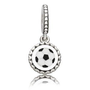 Pandora Soccer Dangle Charm